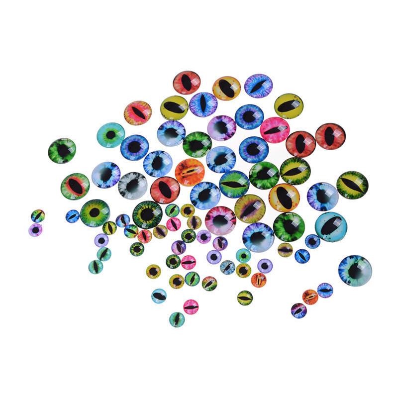 20Pcs 12mm / 25mm Puppen Auge DIY Handwerk Augen für Spielzeug ...
