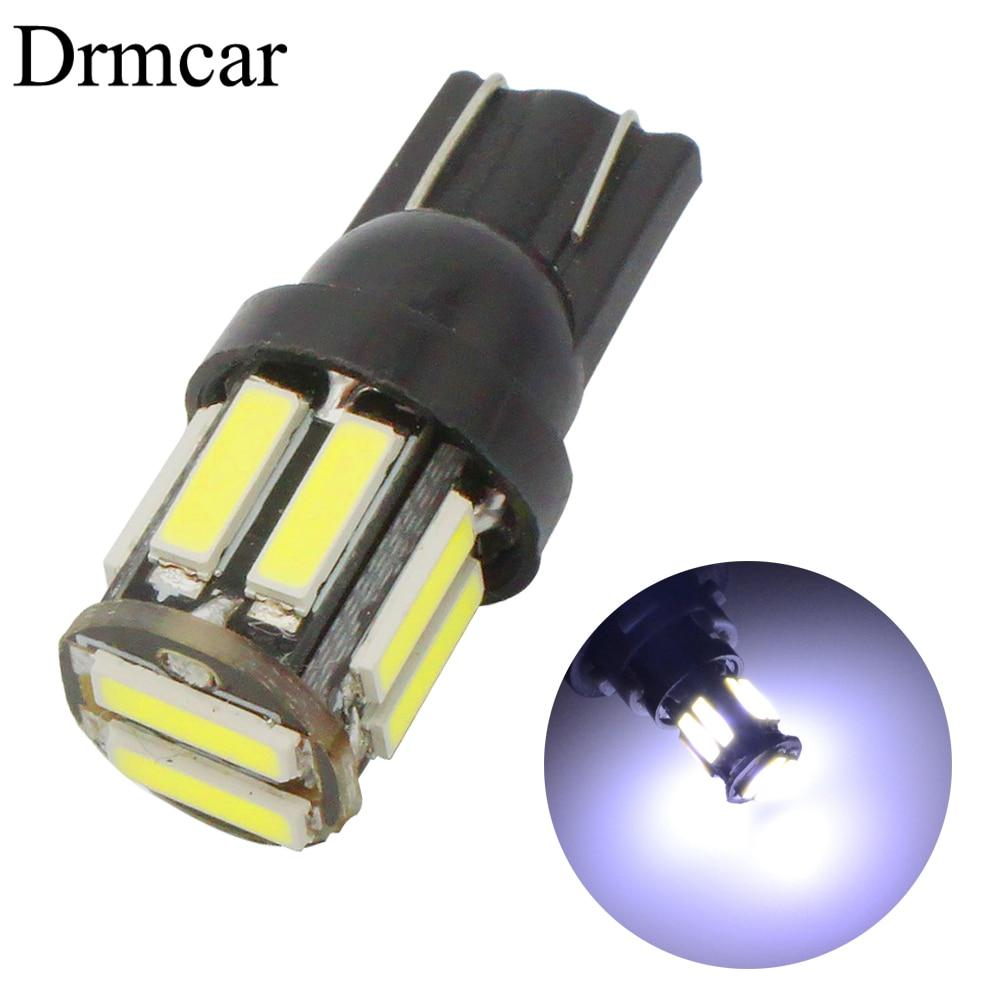 2x Car White T10 3014 24LED Bulb For Turn Side License Plate Lights Ultra Bright