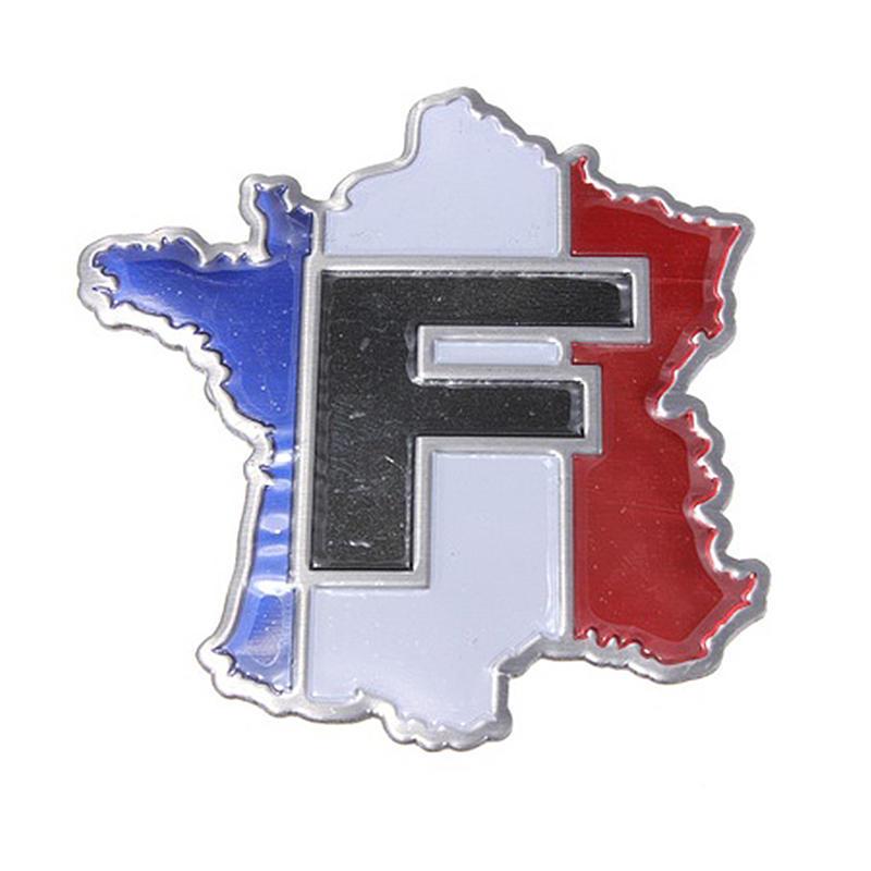 Automobiles & Motorcycles Exterior Accessories 3d Aluminium Alloy Metal France Map Flag Emblem Car Truck Auto Toy Decal Sticker Badge Emblem Logo Decoration For Auto Car In Short Supply
