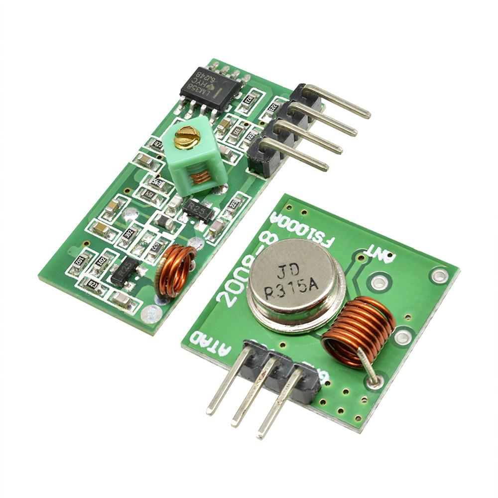 433Mhz RF DC5V Transmitter and Receiver Wireless Module Link Kit for Arduino