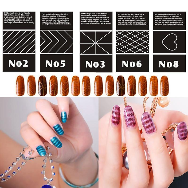 Magic 3D Magnetic Nail Art Tool for DIY Polish Cats Eyes-buy at a ...
