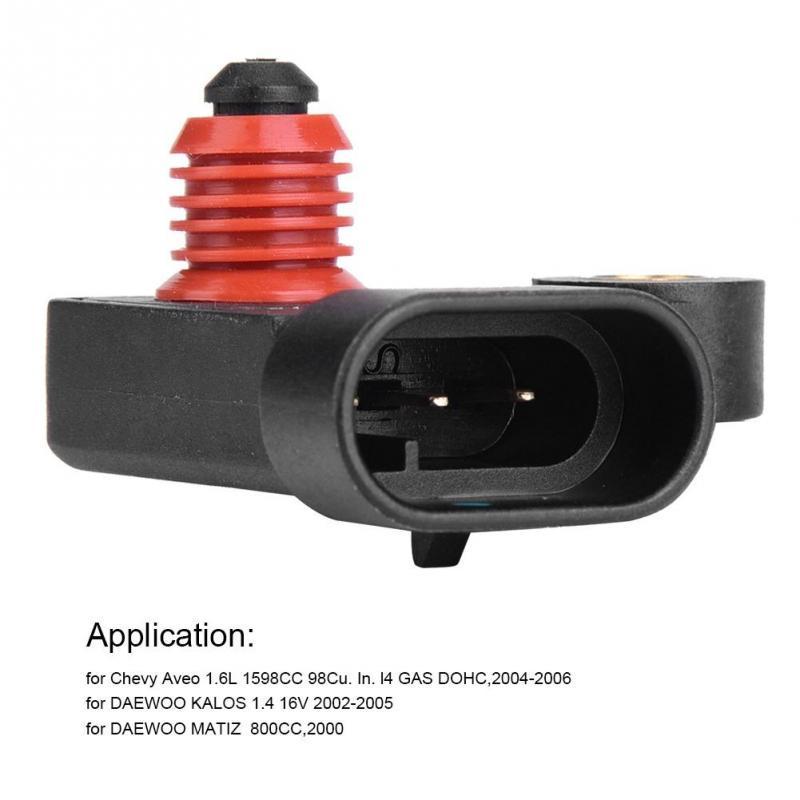 MAP Intake Sensor 96330547 NEW Fit For 2004-2008 Daewoo Chevrolet Pontiac Aveo
