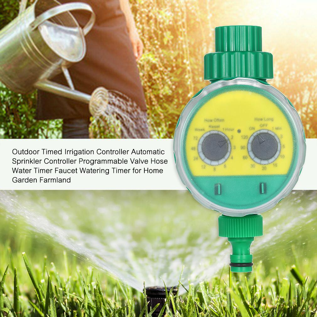 Automatic Water Timer Home Garden Lawn Hose Sprinkler Irrigation Controller