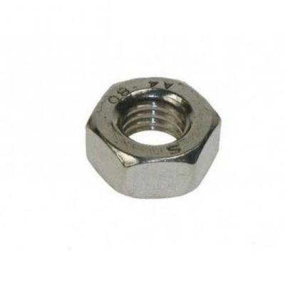 M6 6mm NUTS HEX FULL HEXAGON HEAD NUT PACK 10 25 50 DIN 934 ZINC PLATED METRIC