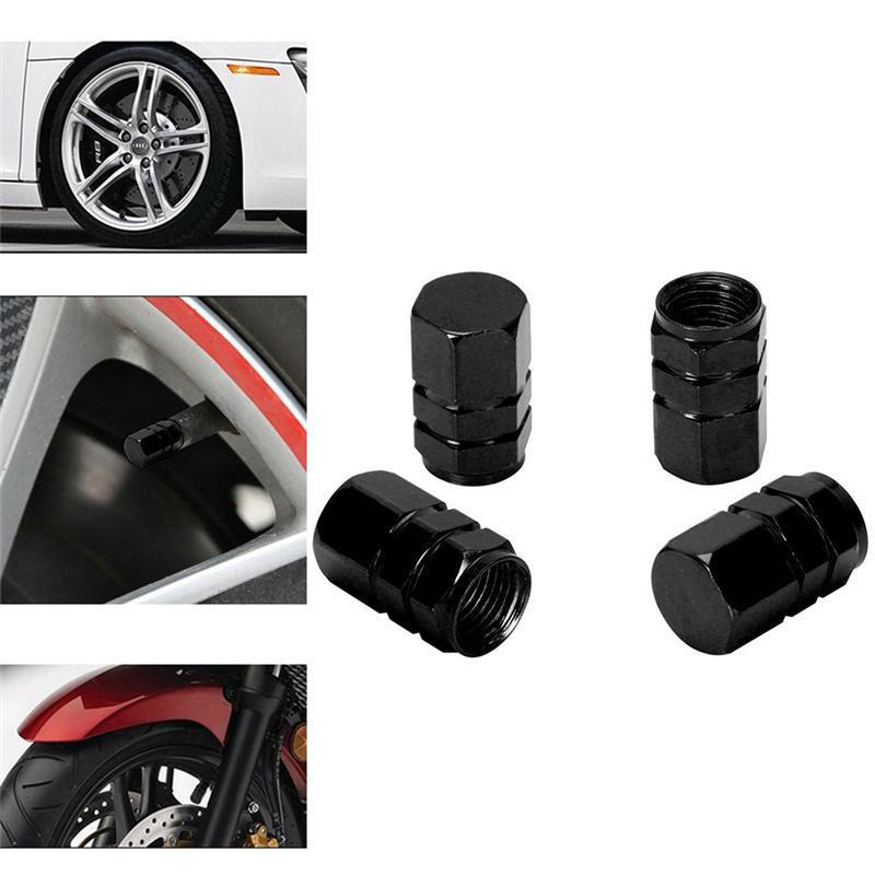4Pcs Auto AMG Logo Rad Reifenventil  Kappen Abdeckungen für Mercedes-Benz