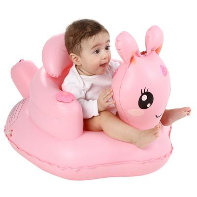 Inflatable Baby Kids Sofa Toddlers Sit Up Stool Training Seat Bath Beach Chair