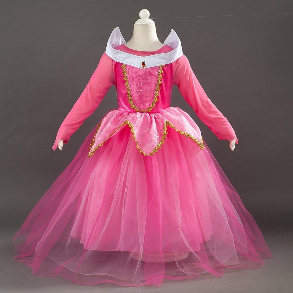 ZS moda fiesta cumpleaños niños niña Princesa Disfraces Navidad ...
