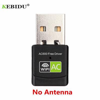 Blue-Ocean-11-2pcs Mini USB WiFi Adapter 150Mbps 2dBi Antenna WiFi Receiver Wireless Network Card 802.11b//n//g High Speed LAN Card