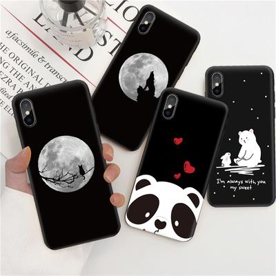 Simple Black TPU Cover Stylish Pattern Soft Silicone Phone Case for iPhone 12 Pro Max Samsung Galaxy A20s A51 A71 A31 A41 Huawei Xiaomi Redmi Note 9