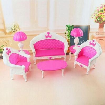 6pc/set Mini rosa niños bebé niñas lindo juguete rosas muñeca ...