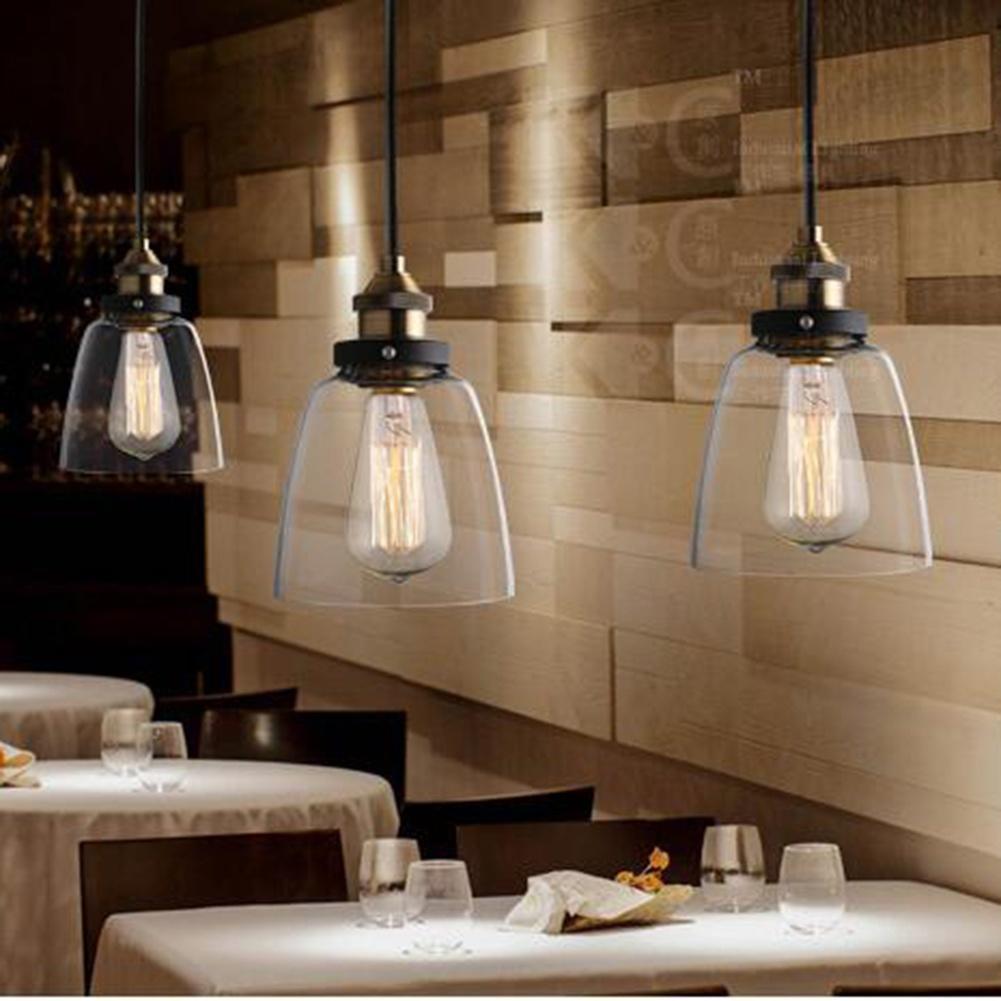 Neuesten Vintage industrielle DIY Deckenleuchte Glühbirne Glas ...