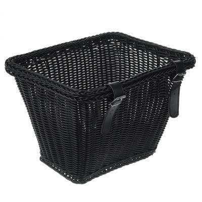 35x27x25cm Vintage Idyllic Rainproof Waterproof  Bicycle Basket Front Handlebar Bike Basket Bicycle Accessory