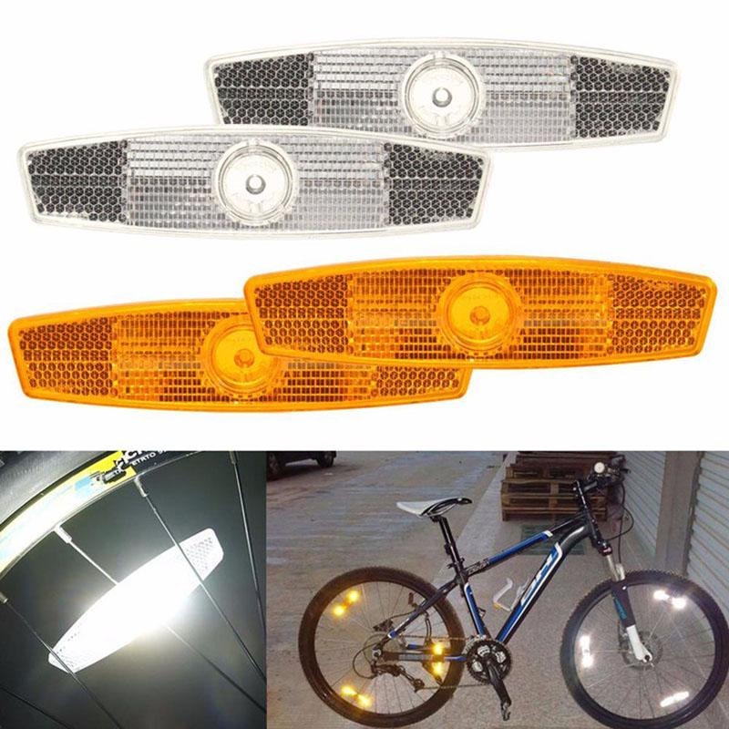 LED Bicycle Safety Light Reflective Clip Running Lamp MTB Light Bike Accessories