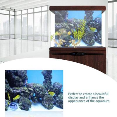 Coral Aquarium Background Underwater Poster Fish Tank Wall Decorations Sticker Buy At A Low Prices On Joom E Commerce Platform