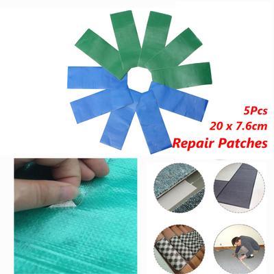 10x Self Adhesive Patches Emergency Tent Awning Tarpaulin Sail Repair Tape