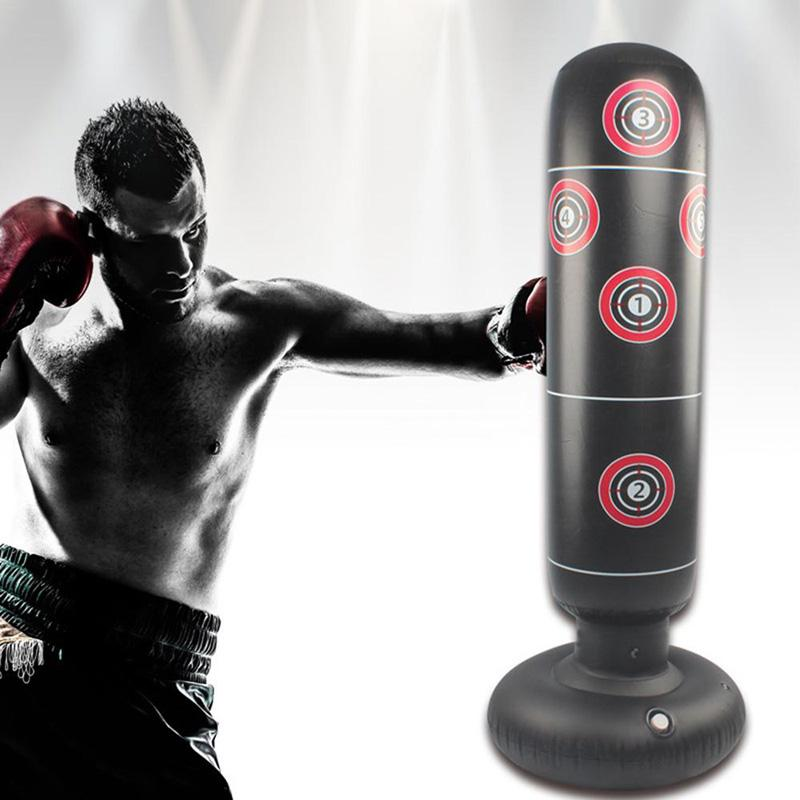 Inflatable Boxing Equipment Speed  Training Punching Bag for Gym Home