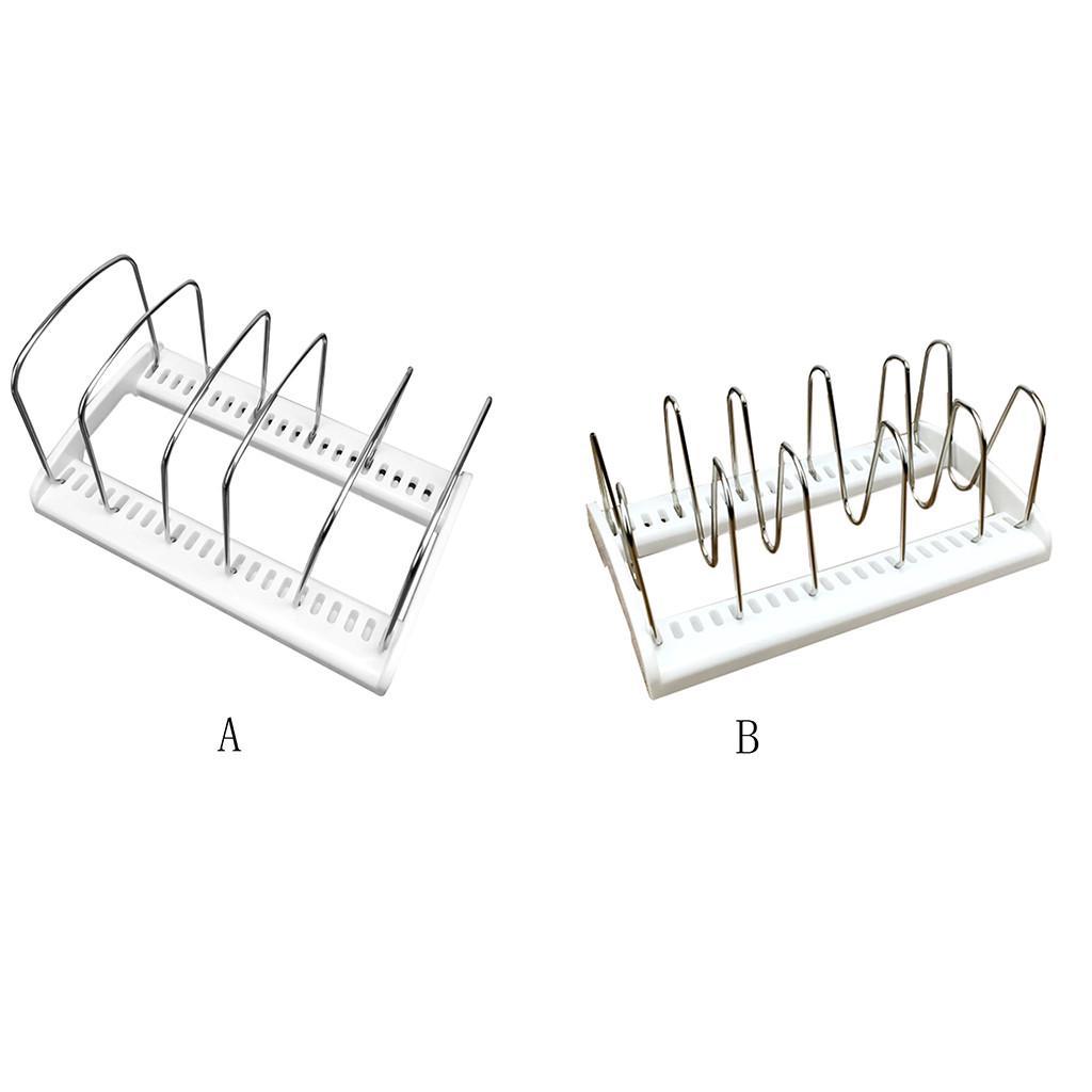 Details about  /Adjustable Kitchen Bakeware Organiser Rack Baking Tray Cutting Board Storage UK