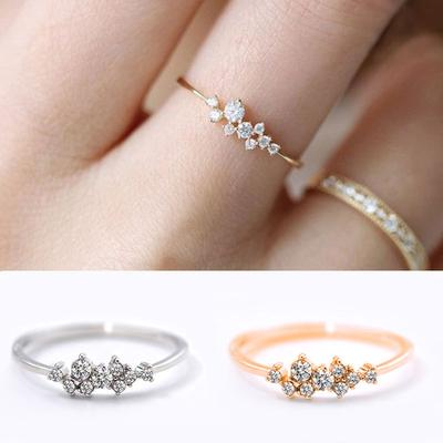 1pc Women S Elegant Engagement Ring Jewelry Gift For Lady Girl Lover Couple Wedding Love Promise Buy At A Low Prices On Joom E Commerce Platform