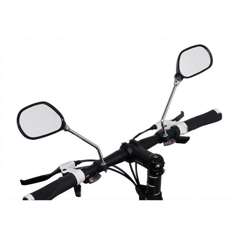 1 Pair For Bicycle Mobility Scooter Mountain Bike Handlebar Rear View Mirrors