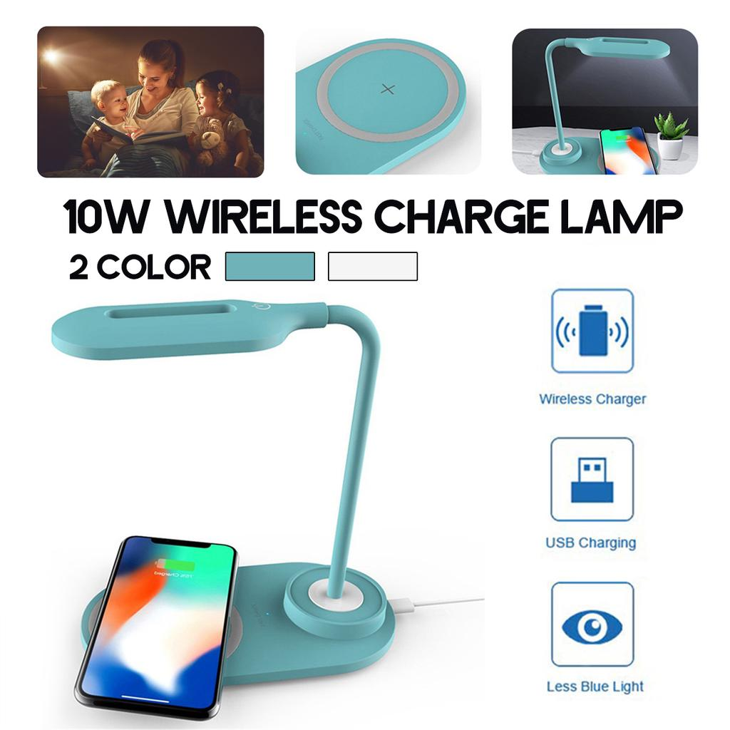 Learning LED Desk Lamp Rechargeable Portable Dimmable Table Lamps Reading Light