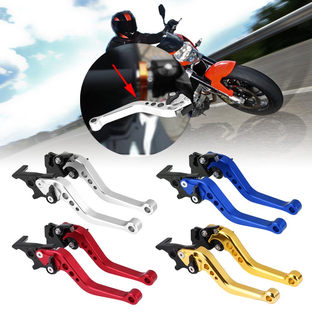 Brake Lever Handle,Pair of Universal 22mm 7//8 CNC Aluminum Motorcycle Clutch Drum Brake Lever Handle Universal Red