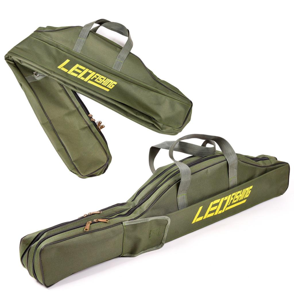 1m 1.5m Fishing Rod Bag Two Compartments Carp Fishing Equipment Tackle Bag