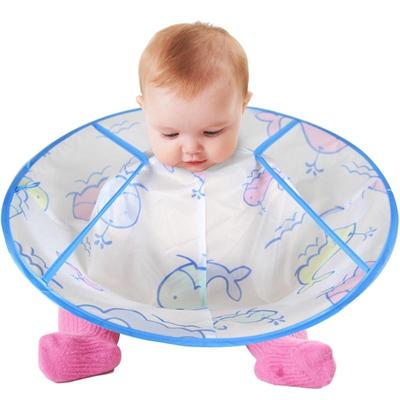 Baby Cartoon Rib Cape Apron For Haircut Buy At A Low Prices On Joom
