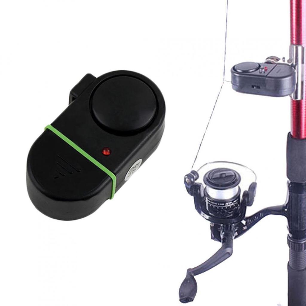 Night Fishing Bite Alarm Buffer Electronic Indicator Sound Alert Clip On Rod hot