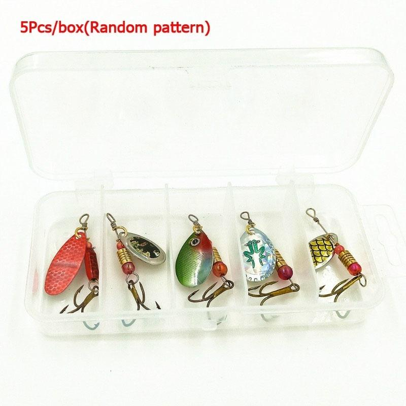 Metal Spinners Fishing Lures Sea Trout Pike Perch Bass Fishing Tackle