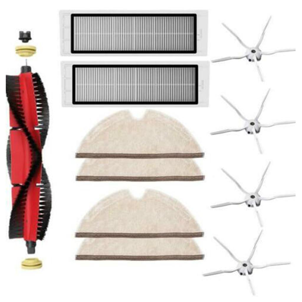 Parts Kit Replace For Xiaomi Roborock S6 S60 S65 S5 MAX T6 Vacuum Filter Brush