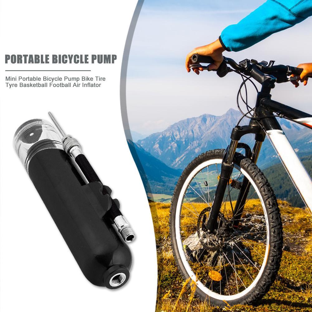 Mini Bike Pump Bicycle Tire Air Pump Bike Accessories Basketball Soccer Inflator