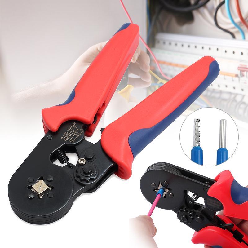Обжимы Plier Tool Кабельный провод холодного давления Терминала Изоляция обжимы Crimp