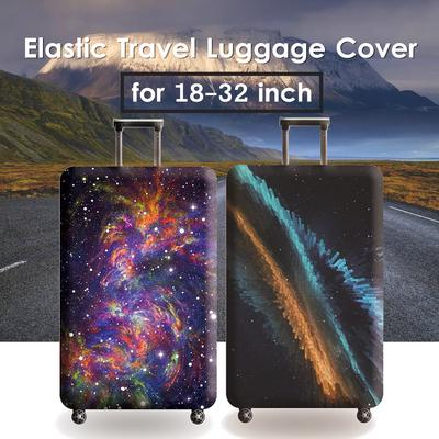 Milky Way Travel Luggage Protective Covers for 18-32 Suitcase Elastic