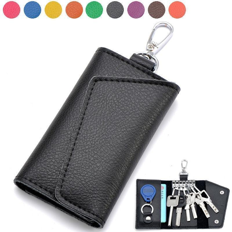 a700702c9e Premium multifunzione pelle cerniera chiave portafoglio cassa auto  portachiavi portafoglio – acquistare a basso prezzo nel negozio online Joom