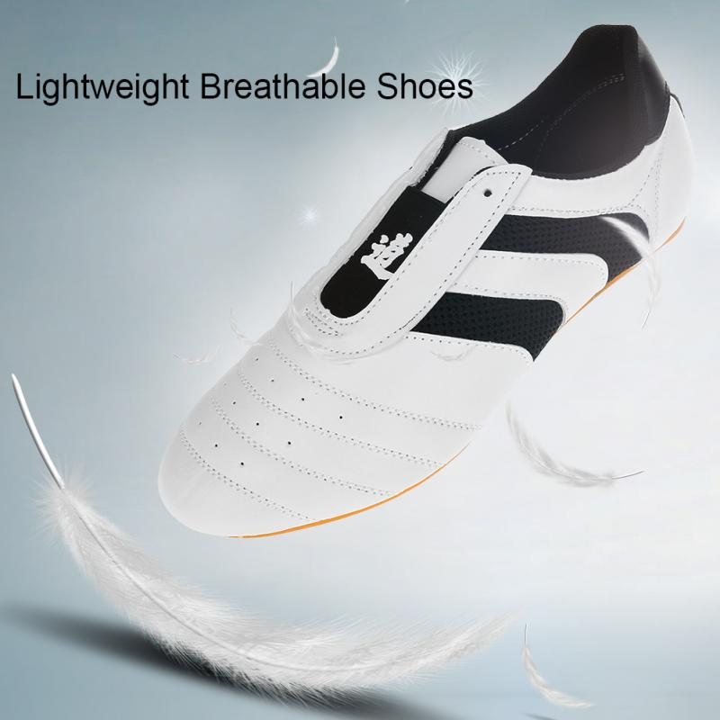 Taekwondo Shoes 26-45 Lightweight Breathable Sport Shoes for Adults Children