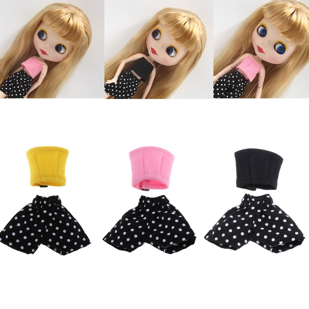 1//6 Doll Stocking for Blyth Azone Licca Barbies 1Pair Socks Clothes Girl Toy
