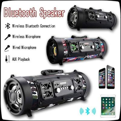 Hot Game Ch M17 Bluetooth Speaker Bass Surround Portable Outdoor Led Speaker Support Tf Buy At A Low Prices On Joom E Commerce Platform