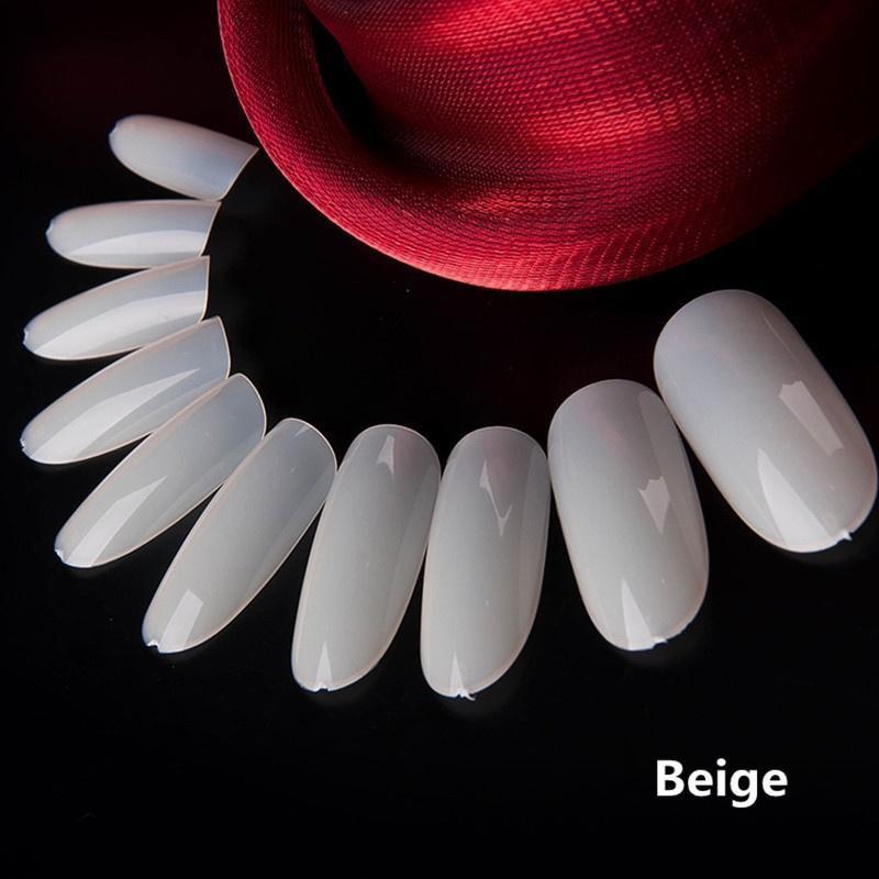 Consejos de 100pcs joyería caja aguja falsas uñas acrílico salón ...