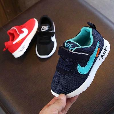 Children's Non-slip Shock Absorption and Breathable Baby Running Shoes, Lightweight Basketball Shoes, Sports Shoes