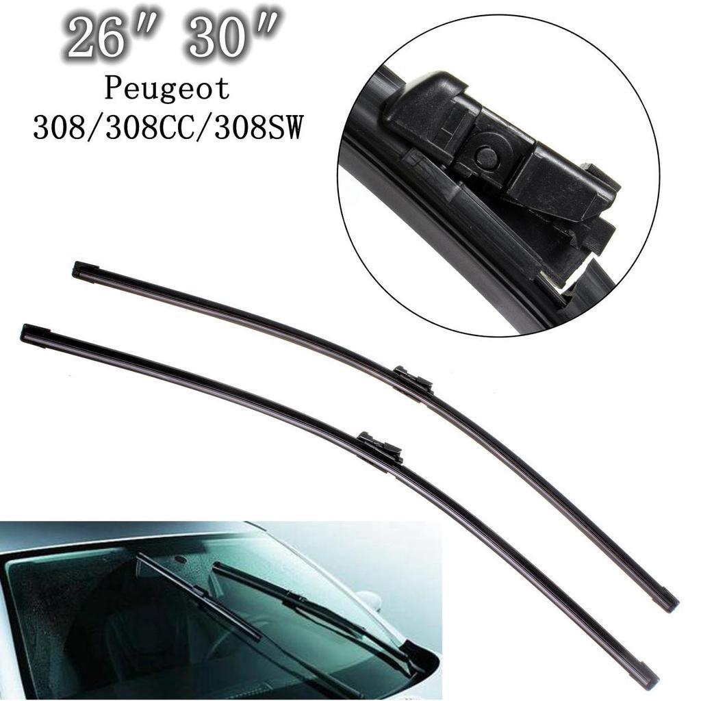 308 Hatchback 2007-2013 Windscreen Wiper Blade Kit