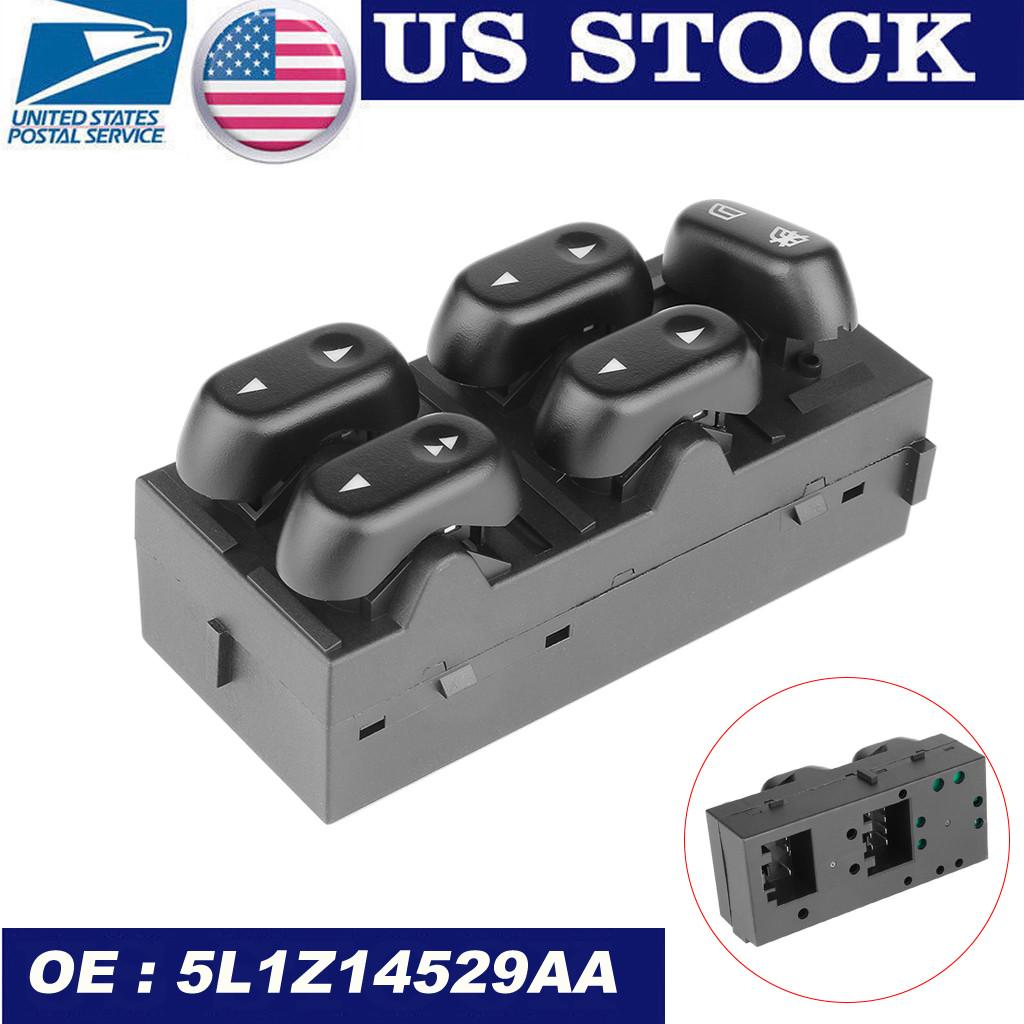 Front Master Power Window Switch Driver Side Left LH for Ford F150 Truck Mercury