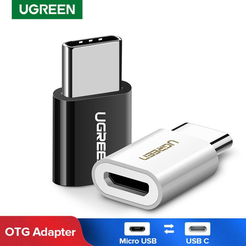 Ugreen Otg Usb Type C Adapter Usb C To Micro Usb Otg Cable Thunderbolt 3 For Macbook Pro Samsung S9 One Plus Buy From 2 On Joom E Commerce Platform