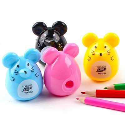 Niedlicher Cartoon Schwein Bleistiftspitzer für Schüler Kinder Büro Schreibwaren