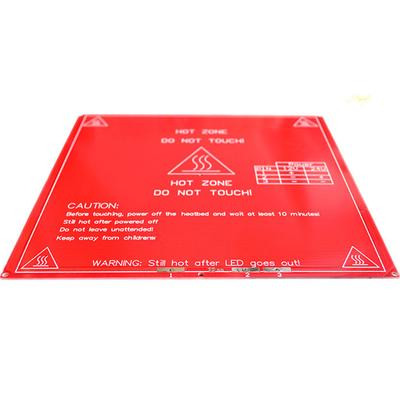 Electronic Components & Supplies Reprap Mendel Pcb Heated Heatbed Mk2b For Mendel 3d Printer Hot Bed Bright In Colour