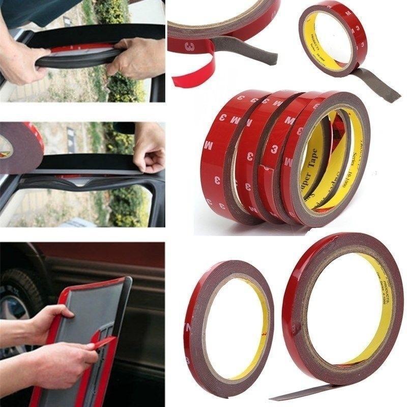 Автомобиль Авто Скотч автомобиль наклейку двойными бортами – купить по низким ценам в интернет-магазине Joom