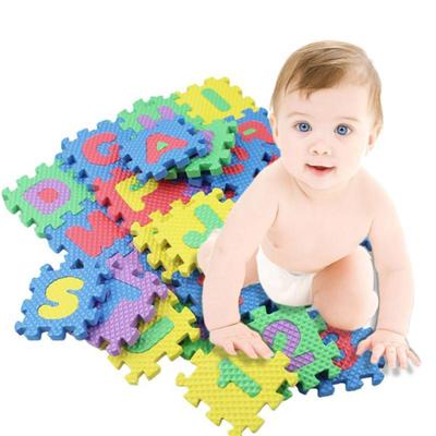 NEW 36PCS BABY KIDS CHILDREN SOFT FOAM ALPHABET PUZZLE EDUCATIONAL PLAY MAT SET