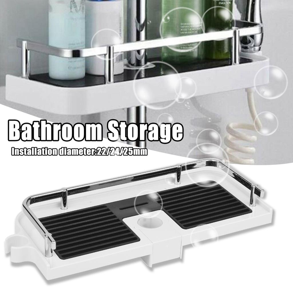 Rectangular Stainless Steel Bathroom, Bathroom Tray Organizer