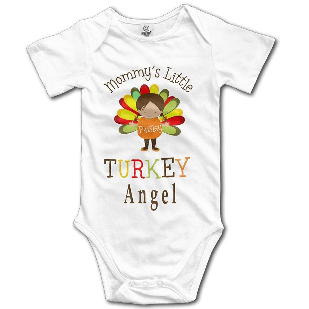fa2bca77e Thanksgiving Mommy's Little Turkey Boy's Baby Onesie Romper-buy at a ...