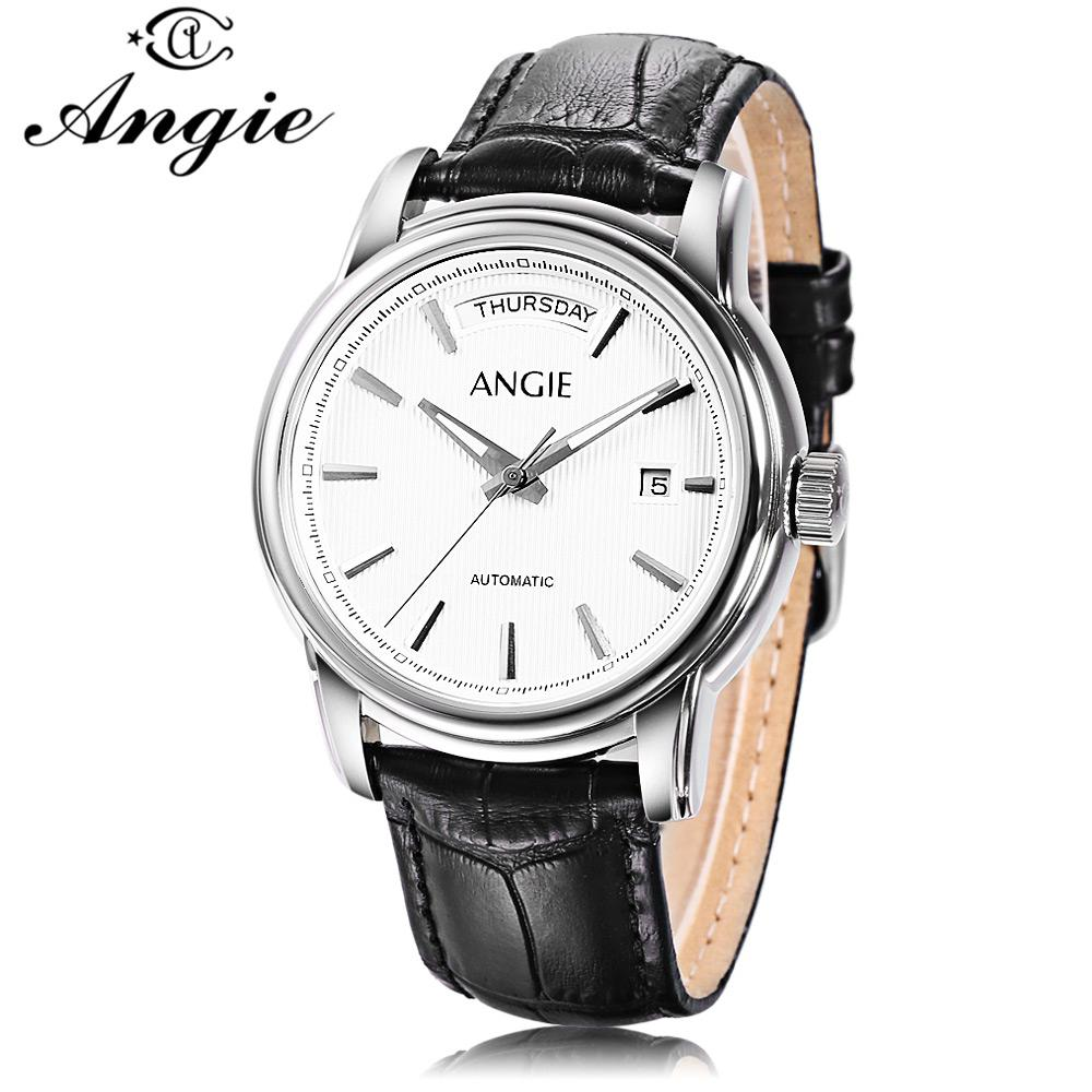 736593cf9ae Angie ST7188 Men Auto Mechanical Watch-buy at a low prices on Joom e ...