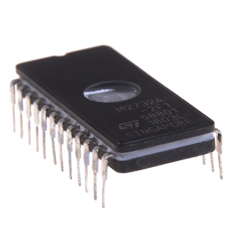 2 PCS M2732A-2F1 M2732A EPROMs ST CDIP24 NEW